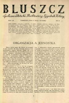 Bluszcz. Społeczno literacki ilustrowany tygodnik kobiecy 1928.05.12 R.61 nr20