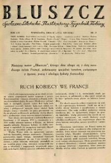 Bluszcz. Społeczno literacki ilustrowany tygodnik kobiecy 1928.07.14 R.61 nr29