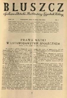 Bluszcz. Społeczno literacki ilustrowany tygodnik kobiecy 1928.07.28 R.61 nr31