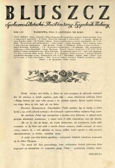 Bluszcz. Społeczno literacki ilustrowany tygodnik kobiecy 1928.11.10 R.61 nr46