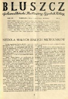Bluszcz. Społeczno literacki ilustrowany tygodnik kobiecy 1928.11.17 R.61 nr47