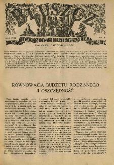 Bluszcz. Pismo tygodniowe ilustrowane dla kobiet. 1925.01.17 R.58 nr3