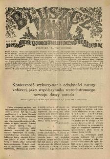 Bluszcz. Pismo tygodniowe ilustrowane dla kobiet. 1925.02.07 R.58 nr6