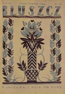 Bluszcz. Pismo tygodniowe ilustrowane dla kobiet. 1926.05.01 R.59 nr18