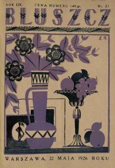 Bluszcz. Pismo tygodniowe ilustrowane dla kobiet. 1926.05.22 R.59 nr21