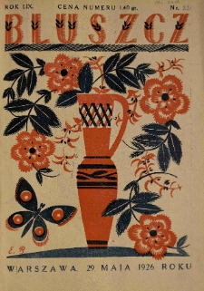 Bluszcz. Pismo tygodniowe ilustrowane dla kobiet. 1926.05.29 R.59 nr22