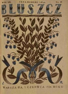 Bluszcz. Pismo tygodniowe ilustrowane dla kobiet. 1926.06.05 R.59 nr23