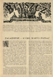Bluszcz. Pismo tygodniowe ilustrowane dla kobiet. 1926.10.30 R.59 nr44
