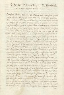 Kolekcja akt do poselstwa Pawła Działyńskiego do Anglii i Belgii (1597) i stosunków ze Stolicą Apostolską (1599)