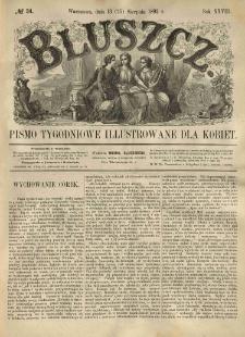 Bluszcz. Pismo tygodniowe illustrowane dla kobiet. 1892.08.13 (25) R.28 nr34