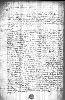 Pisma historyczne z okresu bezkrólewia 1696-1697 i początków panowania Augusta II - kopie XVIII-wieczne