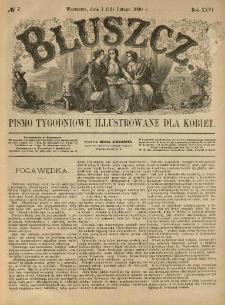 Bluszcz. Pismo tygodniowe illustrowane dla kobiet. 1890.02.01 (13) R.26 nr7