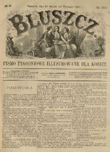 Bluszcz. Pismo tygodniowe illustrowane dla kobiet. 1890.08.30 (09.11) R.26 nr37