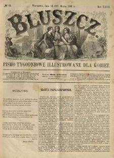 Bluszcz. Pismo tygodniowe illustrowane dla kobiet. 1891.03.14 (26) R.27 nr13