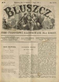 Bluszcz. Pismo tygodniowe illustrowane dla kobiet. 1891.04.25 (05.07) R.27 nr19