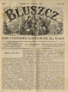 Bluszcz. Pismo tygodniowe illustrowane dla kobiet. 1891.05.09 (21) R.27 nr21