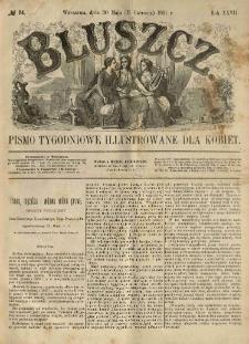Bluszcz. Pismo tygodniowe illustrowane dla kobiet. 1891.05.30 (06.11) R.27 nr24