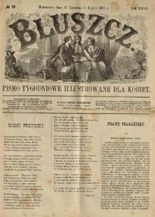 Bluszcz. Pismo tygodniowe illustrowane dla kobiet. 1891.06.27 (07.09) R.27 nr28