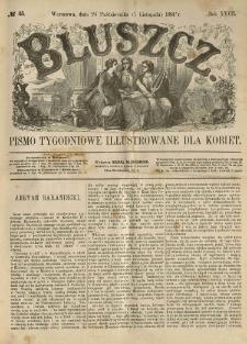 Bluszcz. Pismo tygodniowe illustrowane dla kobiet. 1891.10.24 (11.05) R.27 nr45