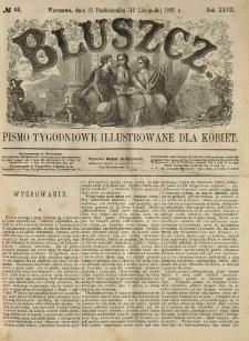 Bluszcz. Pismo tygodniowe illustrowane dla kobiet. 1891.10.31 (11.12) R.27 nr46