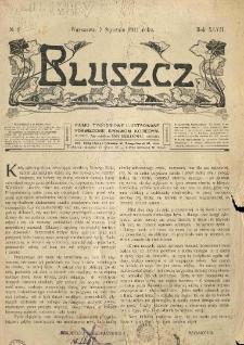 Bluszcz. Pismo tygodniowe ilustrowane poświęcone sprawom kobiecym. 1911.01.07 R.47 nr1