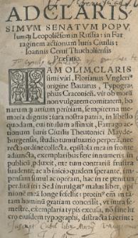 Farraginis actionum iuris civilis et provincialis, Saxonici municipalisque Maydeburgensis: libri septem per [...] collecti et [...] revisi.