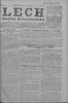 Lech. Gazeta Gnieźnieńska: codzienne pismo polityczne dla wszystkich stanów 1927.02.22 R.29 Nr42