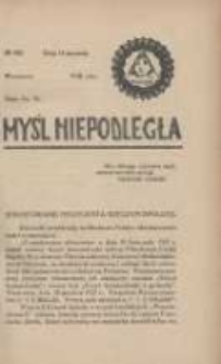 Myśl Niepodległa 1928 Nr900