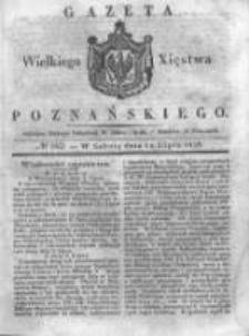Gazeta Wielkiego Xięstwa Poznańskiego 1838.07.14 Nr162
