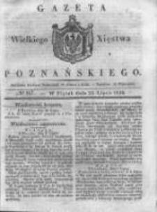 Gazeta Wielkiego Xięstwa Poznańskiego 1838.07.20 Nr167