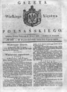 Gazeta Wielkiego Xięstwa Poznańskiego 1838.07.23 Nr169