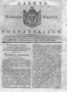 Gazeta Wielkiego Xięstwa Poznańskiego 1838.07.26 Nr172