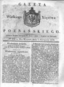 Gazeta Wielkiego Xięstwa Poznańskiego 1838.08.07 Nr182