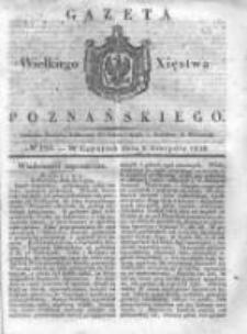 Gazeta Wielkiego Xięstwa Poznańskiego 1838.08.09 Nr184