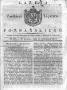 Gazeta Wielkiego Xięstwa Poznańskiego 1838.08.11 Nr186