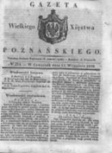 Gazeta Wielkiego Xięstwa Poznańskiego 1838.09.13 Nr214