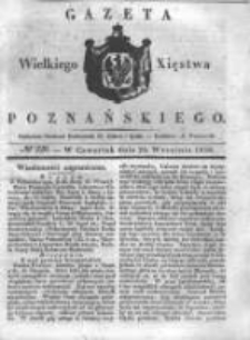 Gazeta Wielkiego Xięstwa Poznańskiego 1838.09.20 Nr220