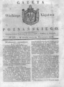 Gazeta Wielkiego Xięstwa Poznańskiego 1838.09.26 Nr225