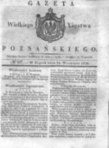 Gazeta Wielkiego Xięstwa Poznańskiego 1838.09.28 Nr227