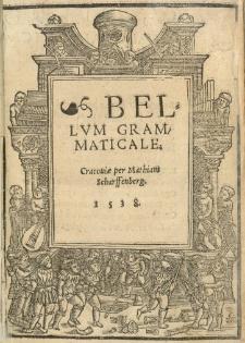Bellum grammaticale
