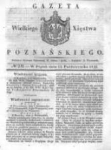 Gazeta Wielkiego Xięstwa Poznańskiego 1838.10.12 Nr239