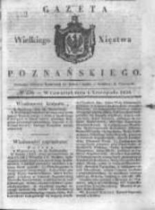 Gazeta Wielkiego Xięstwa Poznańskiego 1838.11.01 Nr256