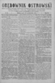 Orędownik Ostrowski: pismo na miasto i powiaty Ostrowski i Odolanowski oraz miast Ostrowa, Odolanowa, Sulmierzyc i Raszkowa 1926.10.22 R.75 Nr85