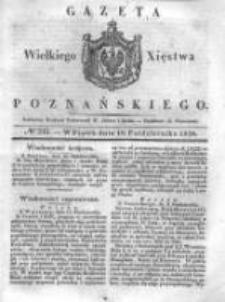 Gazeta Wielkiego Xięstwa Poznańskiego 1838.10.19 Nr245