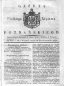 Gazeta Wielkiego Xięstwa Poznańskiego 1838.10.30 Nr254
