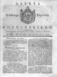 Gazeta Wielkiego Xięstwa Poznańskiego 1838.11.20 Nr272