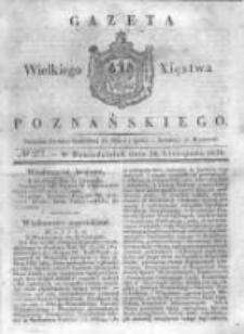 Gazeta Wielkiego Xięstwa Poznańskiego 1838.11.26 Nr277