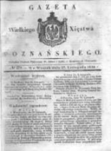 Gazeta Wielkiego Xięstwa Poznańskiego 1838.11.27 Nr278