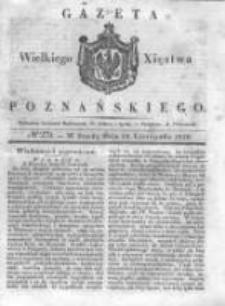 Gazeta Wielkiego Xięstwa Poznańskiego 1838.11.28 Nr279