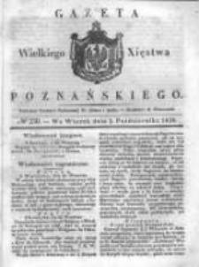 Gazeta Wielkiego Xięstwa Poznańskiego 1838.10.02 Nr230
